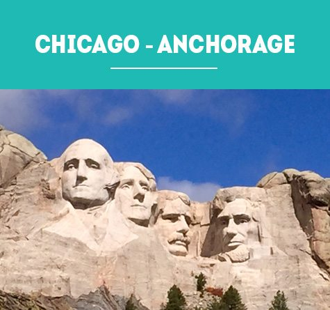 ALASKA HIGHWAY: CHICAGO – ANCHORAGE