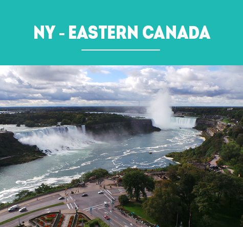 NEW YORK to EASTERN CANADA