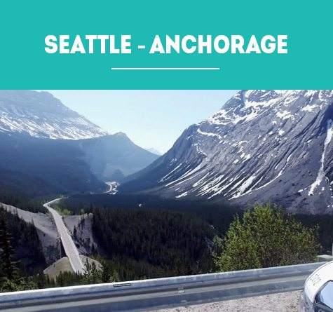 ALASKA HIGHWAY: SEATTLE – ANCHORAGE